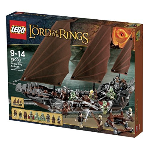 LEGO The Lord of the Rings Pirate Ship Ambush #79008
