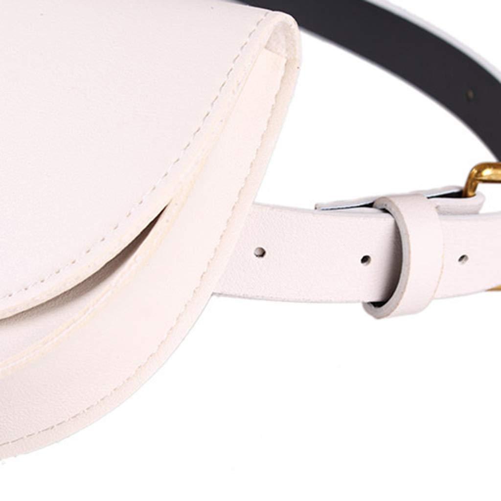 chenpaif Moda Mujer Niñas Cintura Riñonera Cinturón Bolsa