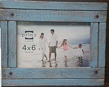 White 3710-0157 5 by 7-Inch PRINZ Homestead Distressed Wood Frame