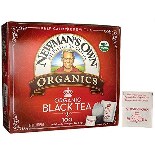 NEWMAN'S OWN ORGANICS Organic Black Tea 100 CT