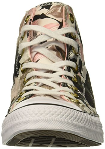 Chuck Pink White Print Black Storm Converse Sneaker Top High Taylor All Floral Star Women's vxqqAYw75