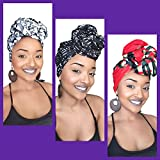 The First Lady African Headwrap Collection ( 3 headwraps)