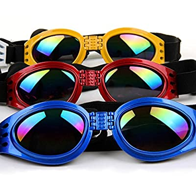 Cool Stylish And Funny cute Pet/Dog Puppy Goggles Sunglasses Waterproof Protection Folding Goggles With 6 Colors GL047