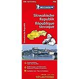 Slowakische Republik (Michelin Nationalkarte)