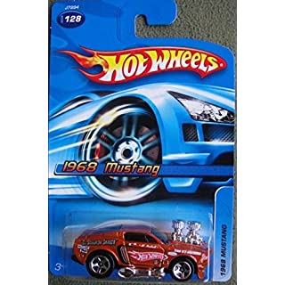 Hot Wheels 1968 Mustang 2006 #128 Burnt Orange