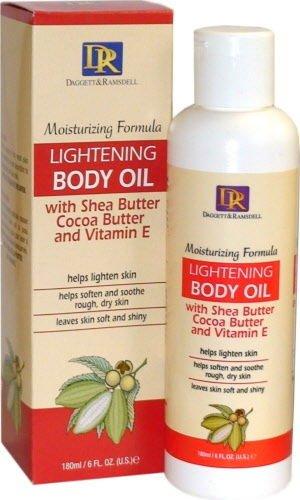 skin lightening body oil