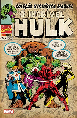 Coleção Histórica Marvel: O Incrível Hulk Vol. 6