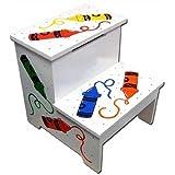: LC Creations Crayon Storage Stepstool