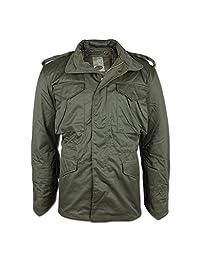 Classic M65 Army Combat Parka Field Jacket Mens Coat Olive Size L