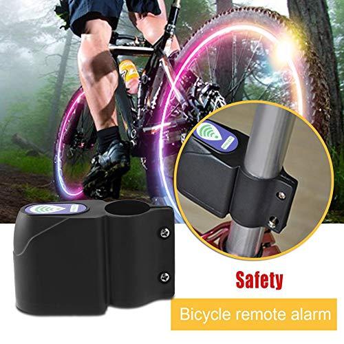 Drahtlose Sicherheitsvibrationssensor-Warnungssystem-Fernbedienung mit Infrarotfernbedienung f/ür Fahrrad