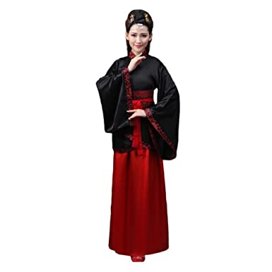 a1a035a4c8176 Xinvivion Hanfu Dress for Women - Ancient Chinese Style Tang Suit ...