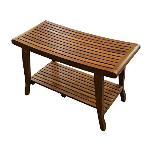 ALATEAK Indoor Outdoor Patio Garden Yard Bath Shower Spa Waterproof Stool Bench ()
