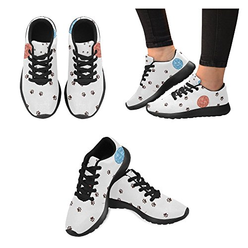 InterestPrint Womens Cross Trainer Running Shoes Jogging Lightweight Sports Walking Athletic Sneakers kUlNR