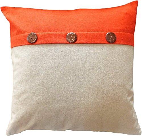 lfarncomboutlet Coco Botones Naranja 1013 manta almohada ...
