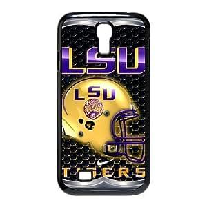 Charming Creative NCAA Lsu Tigers Samsung Galaxy S4 I9500 Case Cover University Football Nike just do it logo Helmet WANGJING JINDA