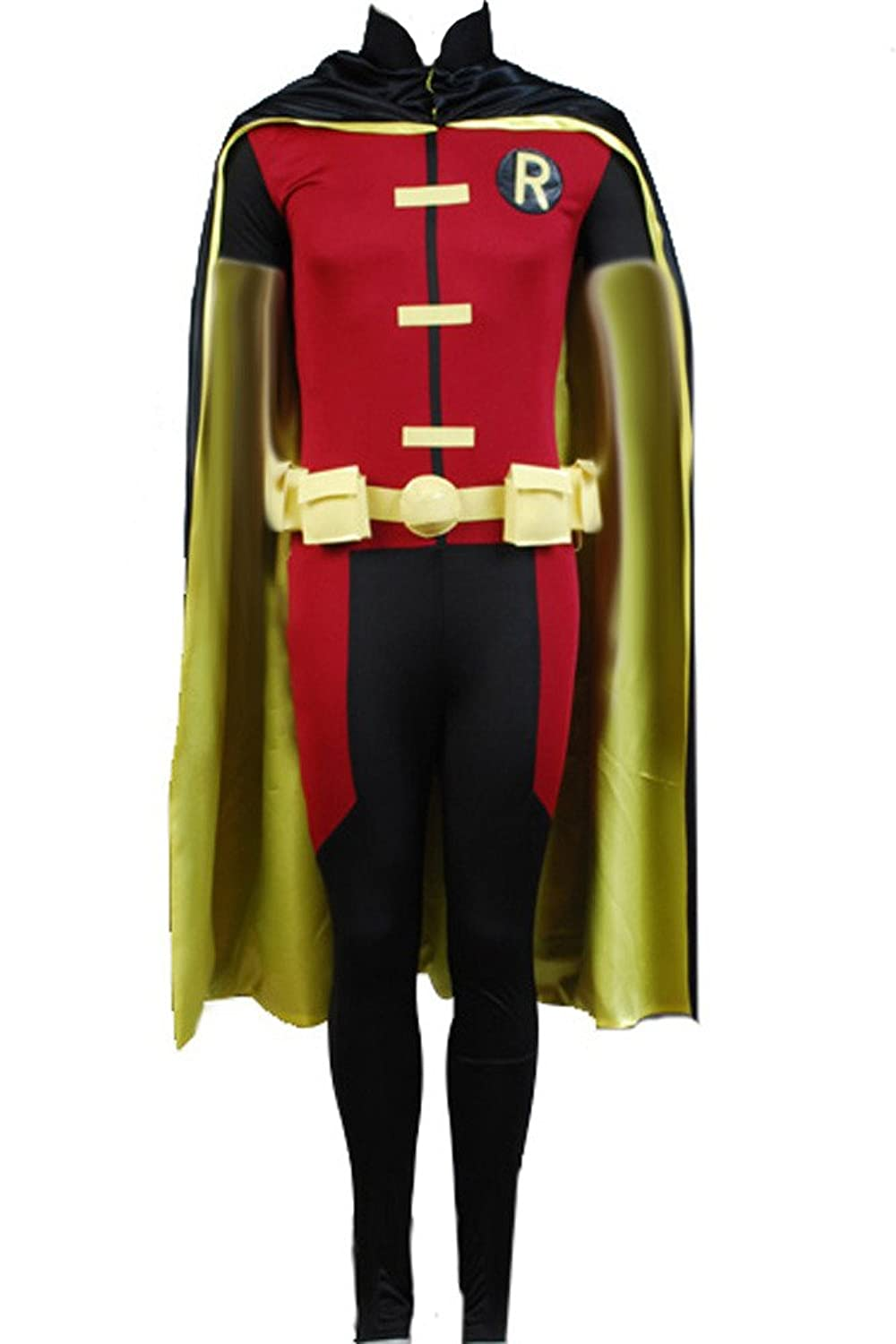 Amazon.com CosplaySky Young Justice Robin Cosplay Halloween Costume Clothing  sc 1 st  Amazon.com & Amazon.com: CosplaySky Young Justice Robin Cosplay Halloween Costume ...