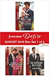 img - for Harlequin Desire August 2016 - Box Set 1 of 2: For Baby's Sake\Pregnant by the Maverick Millionaire\The CEO Daddy Next Door book / textbook / text book