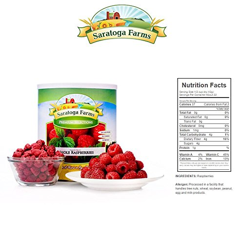 BASIC Year Supply of Freeze-Dried Fruit by Saratoga Farms (Image #4)