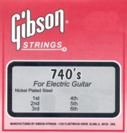 Amazon.com: CUERDAS GUITARRA ELECTRICA - Gibson (740/SULC) Super Ultra Lite/Brite (Juego Completo 008/035E): Musical Instruments