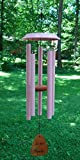Corinthian Bells 34″ For the Girls Breast Cancer Awareness Hand-Tuned Pink Windchime Made in USA Review