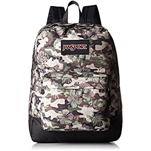 JanSport Black Label Superbreak Backpack - 1550cu in Multi Floral Camo