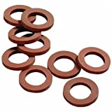 Orbit 5 Pack (50 Total Washers) Rubber Washers for Garden Hoses and Nozzles - 10 Pack