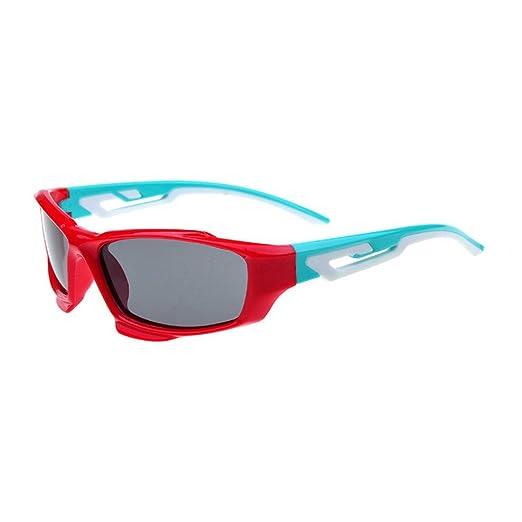 3770e7ec4c Amazon.com  Simvey Kids TR90 Flexible Polarized Sunglasses for Baby ...