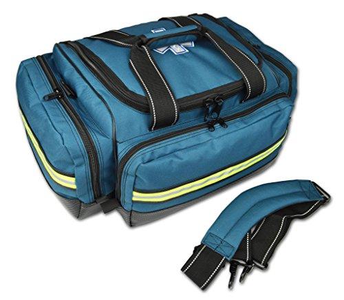 Lightning X Premium Stocked Modular EMS/EMT Trauma First Aid Responder Medical Bag + Kit - Navy Blue by Lightning X Products (Image #2)