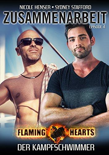 Zusammenarbeit: Gay Alpha Heroes (Flaming Hearts 4) (German Edition)