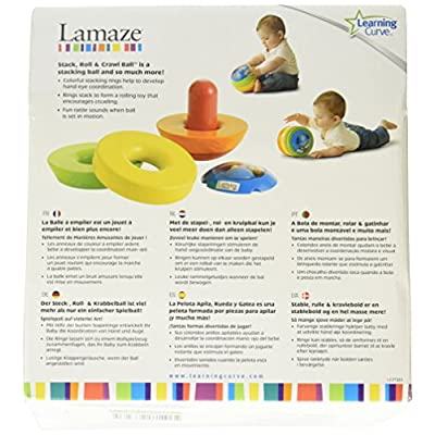 Lamaze Stack, Roll and Crawl Ball (Discontinued by Manufacturer) : Early Development Activity Centers : Baby