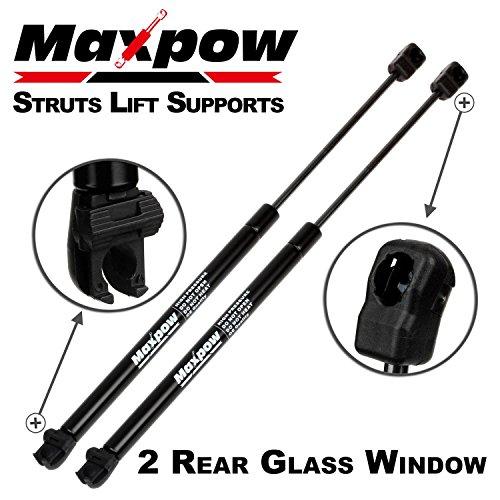 Maxpow 2Pcs Rear Window Lift Supports Struts for 2005-2013 Nissan Pathfinder SG325028 6607