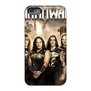 Iphone 6plus Xgt19400jQiE Allow Personal Design Lifelike Manowar Band Pattern Shock-Absorbing Hard Phone Case -InesWeldon