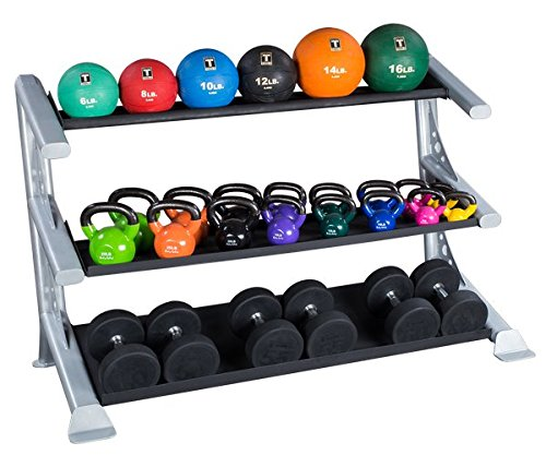 Dumbbells, Kettlebells and medicine Balls Rack by Body-Solid