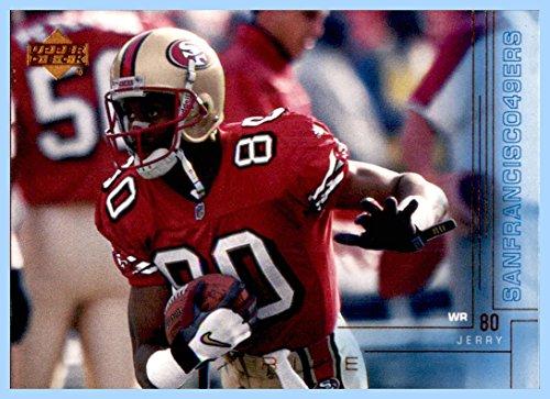 2000 Upper Deck #184 Jerry Rice SAN FRANCISCO 49ers MISSISSIPPI VALLEY STATE HOF ()