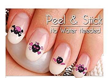 Amazon Sugar Skulls Nail Art Decal Sticker Set Day Of The