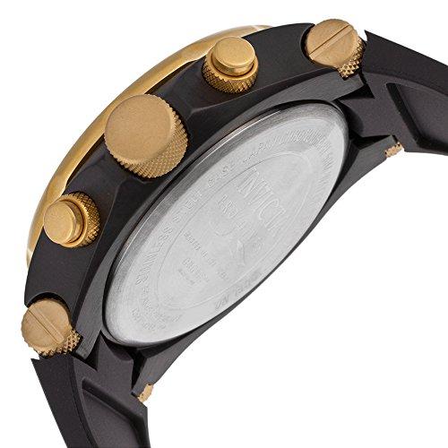 Invicta 17815 Pro Diver herrklocka rostfritt stål kvarts guld urtavla