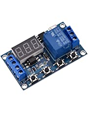 DC 6-30V Digital LED Relay Board Cycle Timing Circuit Switch Timer Delay Trigger Module Micro USB 5V