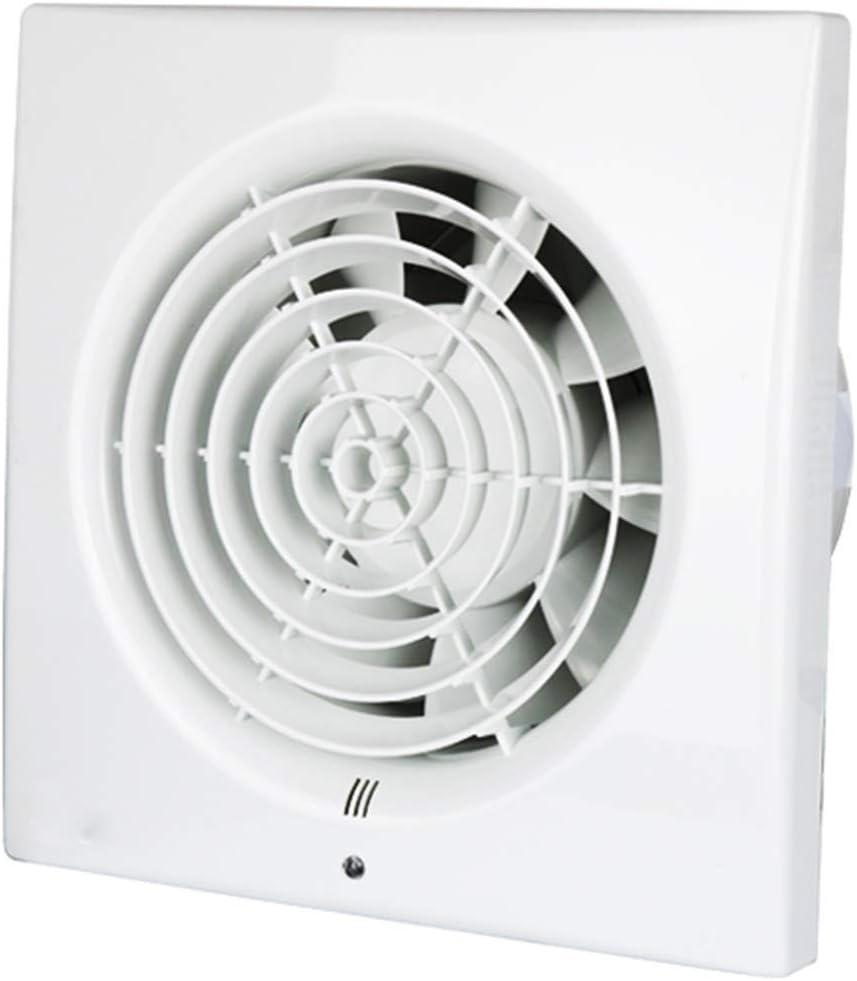 JJZXT Extintor Tranquila en el Dormitorio, Descarga Blanca Vertical Ventilador de ventilación, Sala Redonda Pared de la Ventana Agujero