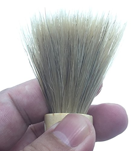 French Wire Mop (Coffee grinder brush cleaner with natural wood handle dusting cleaning tool coffee machine Accessories)
