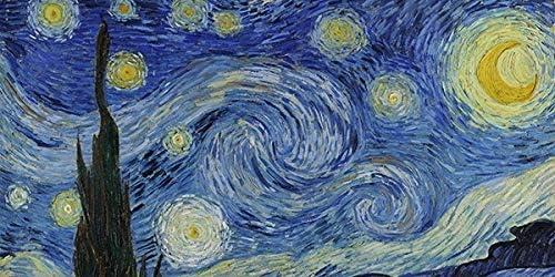 Kandinskij Dekoidea by Crearreda Decorazione per muri Testiera Letto 195 x 95 cm in Gomma
