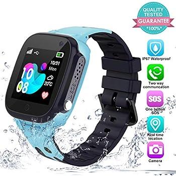 Amazon.com: Kids Smartwatch Phone Boys Girls – Game Smart ...