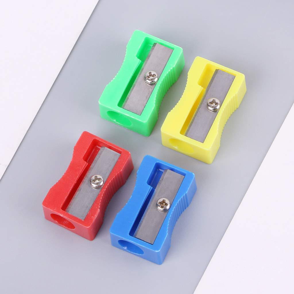 NKYSM Bleistiftspitzer Kunststoff 10 Packungen