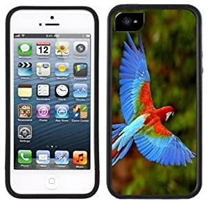 LJF phone case Macaw Parrot Handmade iphone 6 4.7 inch Black Case