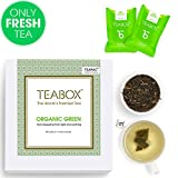 Teabox USDA Organic Green Tea, 40+4 Free Tea Bags Review
