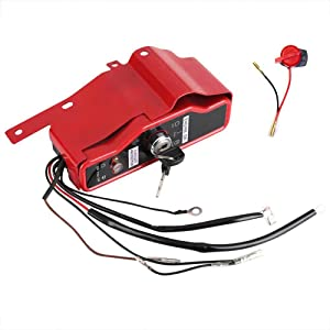 FanzKo GX390 Ignition Key Switch Box w/Keys Engine Stop On Switch for Honda GX340 GX390 11hp 13hp Gas Engine