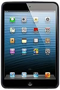 Amzer TPU Polycarbonate Hybrid Kickstand Case Cover for Apple iPad mini - Black (AMZ95224)