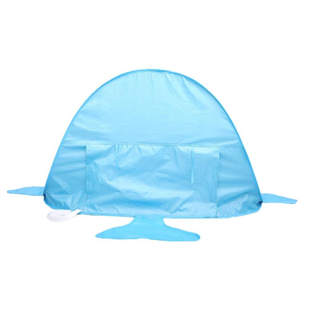 Baby Plage Tente Pop Up Anti-UV-B/éb/é primrosely Tente De Plage pour Enfants Babybecken Tragbarer Sonnenschutzschuppen Outdoor-Spielstrandhai F/ür Kleinkinder Geeignet Strandmuscheln
