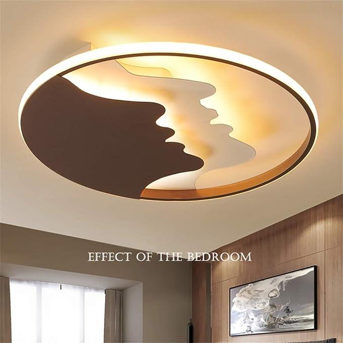 Amazon.com: XHJZ-W - Lámpara de techo moderna y sencilla de ...