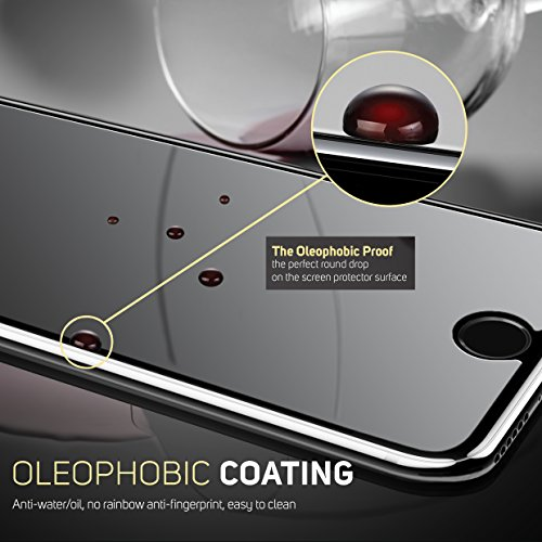 iPhone 8 Plus Glass Screen Protector, iPhone 7 Plus Glass Screen Protector Defenslim by Witkeen Ballistic Tempered Glass Screen Protector iPhone 8 Plus iPhone 7 Plus, (2-Pack) Case Compatible by WITKEEN (Image #7)