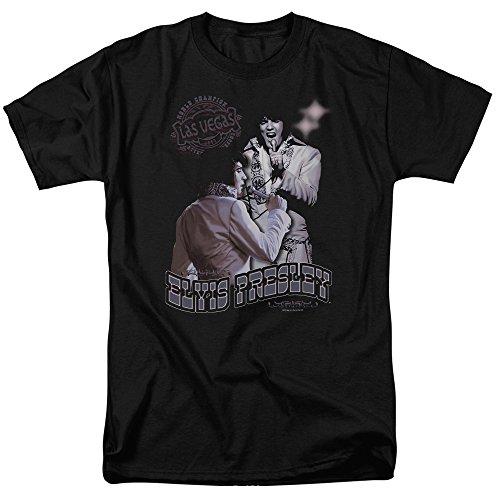 Elvis Presley - Violet Vegas - Adult T-Shirt - Medium